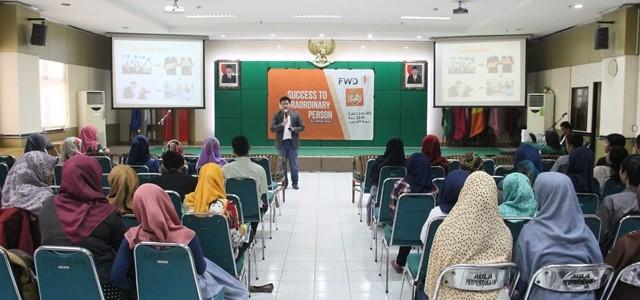 Seminar Success Entrepreneurship FWD dan BEM Fakultas Ilmu Sosial