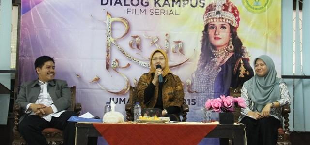 Dialog Kampus Film Serial Razia Sultan MNC TV dan BEM Jurusan Ilmu Agama Islam