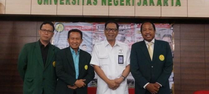 Kuliah Perdana Mahasiswa Baru Fakultas Ilmu Sosial UNJ