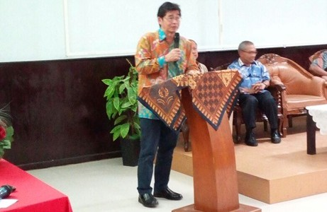 Kunjungan Plh Rektor UNJ