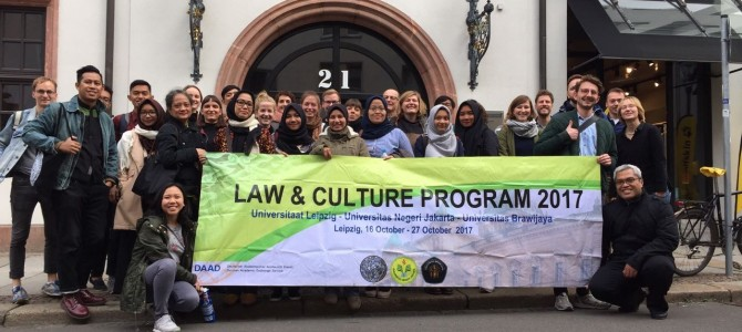 "LAPORAN PERJALANAN PROGRAM ""LAW AND CULTURE 2017"" LEIPZIG, JERMAN"