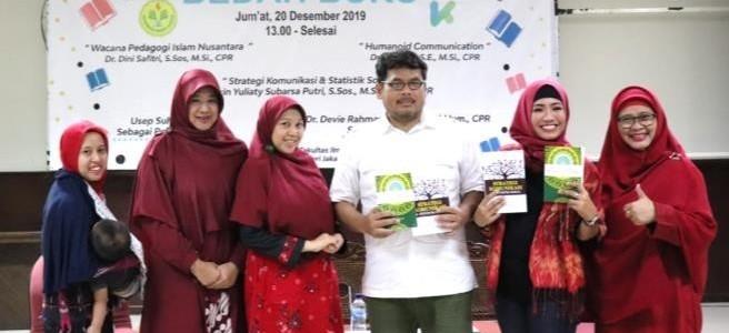 ACARA BEDAH BUKU PROGRAM STUDI ILMU KOMUNIKASI UNIVERSITAS NEGERI JAKARTA