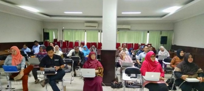 "Workshop Academic FIS UNJ 2020 ""KEMIS AN ACADEMIC"""