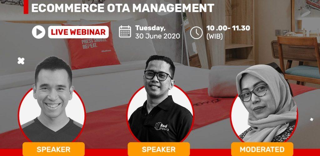 Webinar Digital Marketing And E-commerce OTA Management