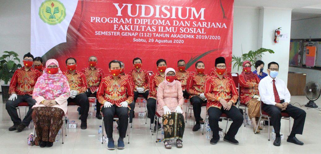 Yudisium Fakultas Ilmu Sosial UNJ Semester 112