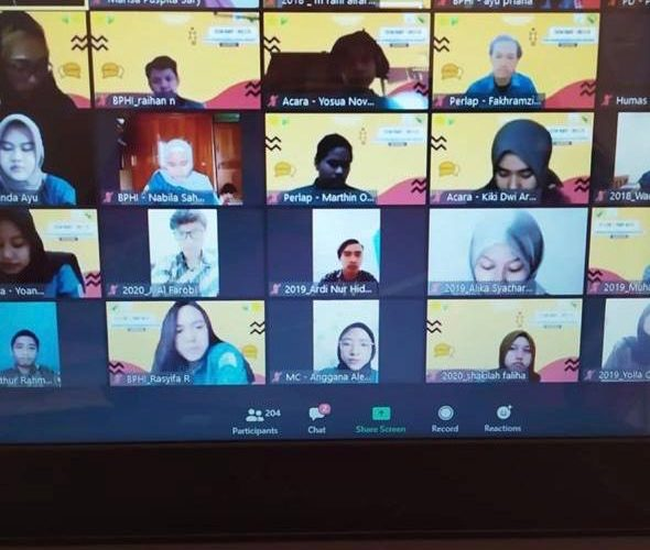 Seminar Online Prodi Ilmu Komunikasi Universitas Negeri Jakarta