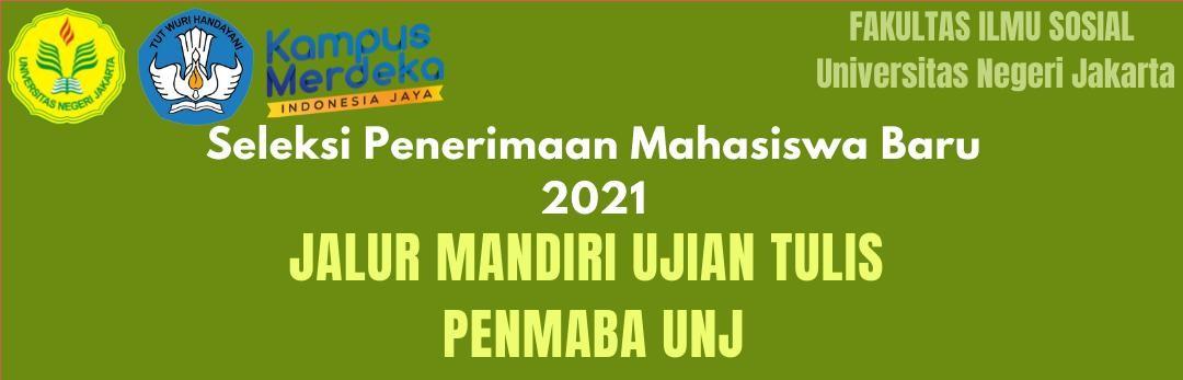 Pengumuman Seleksi Penerimaan Mahasiswa Baru 2021